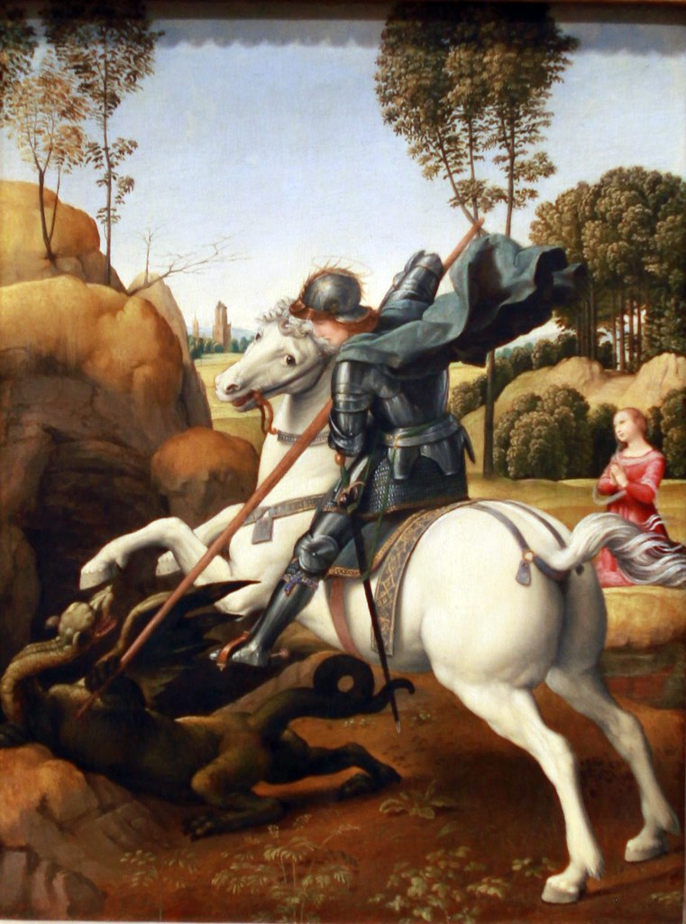 Saint George and the Dragon, c. 1506