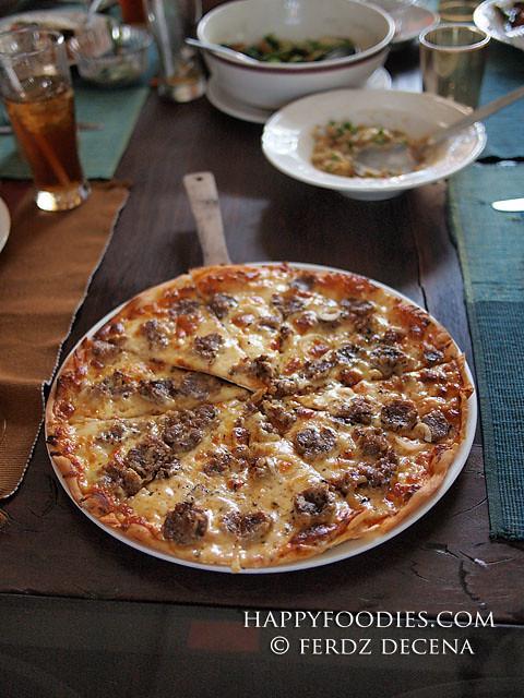 Langonisa Pizza