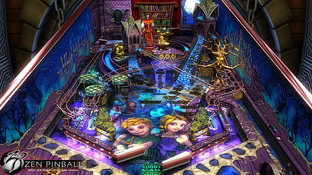 Zen Pinball: Sorcerer's Lair for PS3 (PSN)