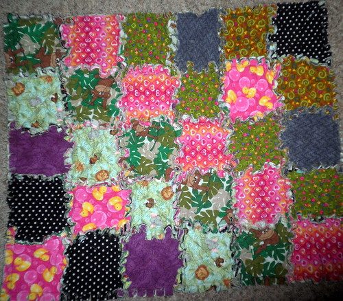 Rag Quilt for my baby