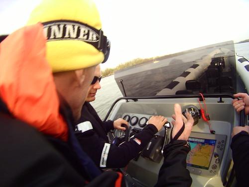 Over de Maas van Rotterdam naar Scheveningen met de nieuwe RING Powercraft - John geeft uileg 2