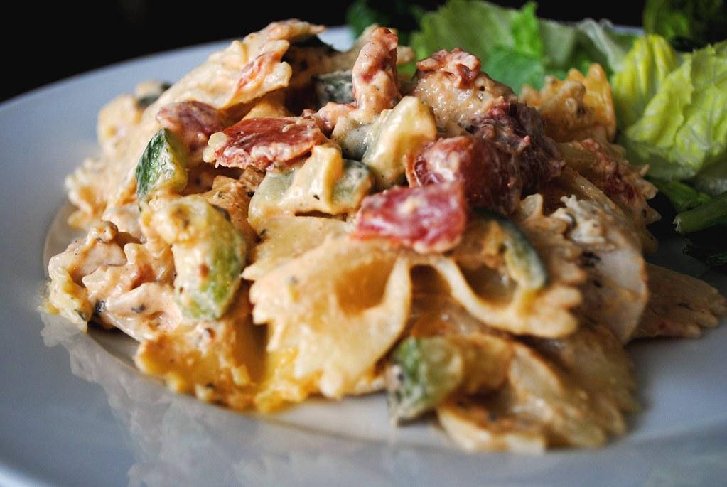 Creamy Italian Chicken & Pasta