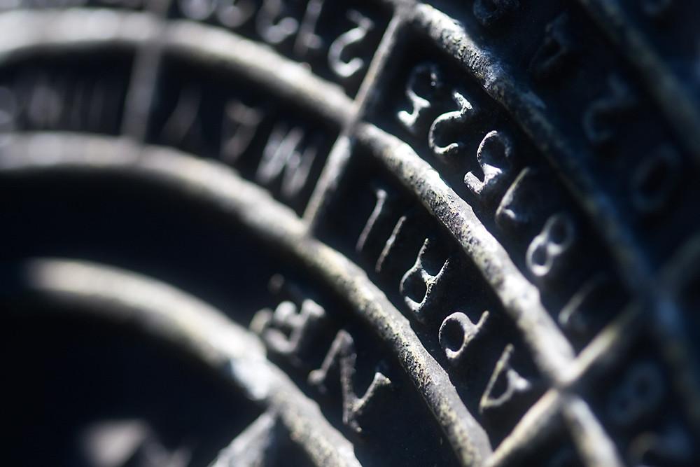 Macro 5/30:  Sundial