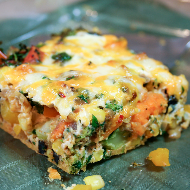 Sweet Potato Oven Baked Frittata • The Healthy Foodie