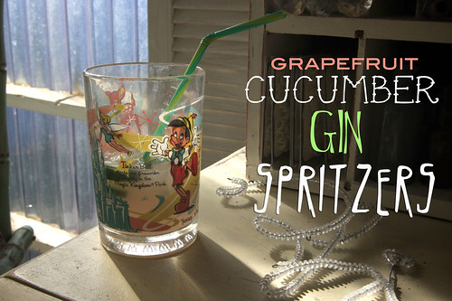 grapefruit cucumber gin