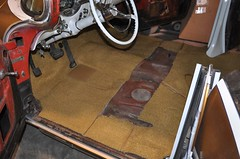 "1956 Oldsmobile EZ Boy Interior Install • <a style=""font-size:0.8em;"" href=""http://www.flickr.com/photos/85572005@N00/5601581344/"" target=""_blank"">View on Flickr</a>"