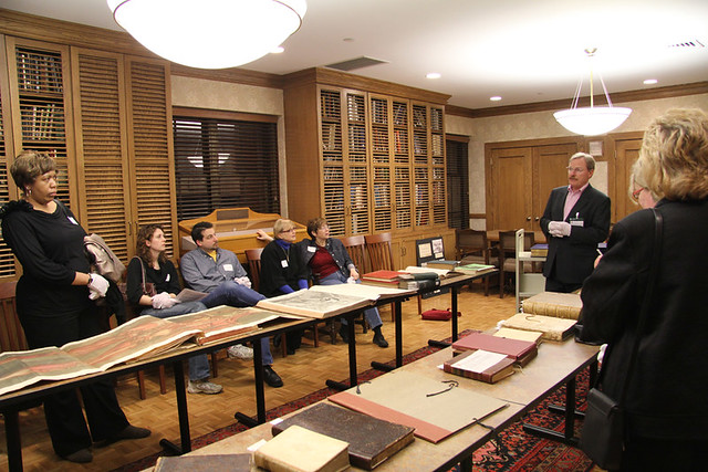 Dittrick Museum Tour - Obscura Day 2011 - Rare Book Viewing