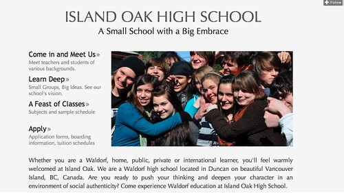 Island Oak High School Website