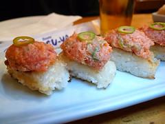Katsu-Ya's Spicy Tuna Crispy Rice
