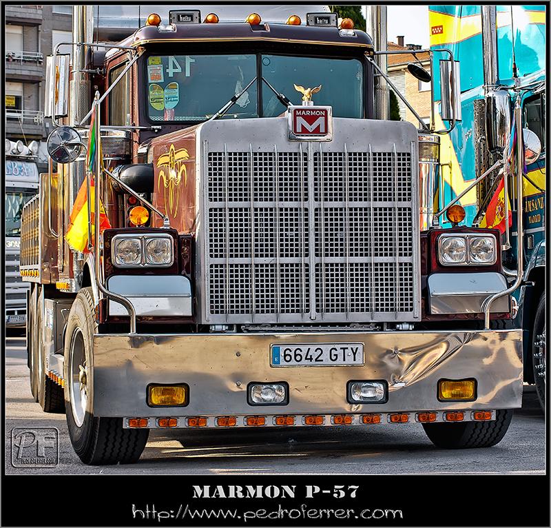 II Truck Show Festival de Torrelavega 2011 - MARMON P-57