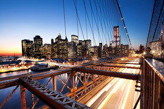 'The Big Apple', United States, New York, New York City, Brooklyn Bridge & Financial District