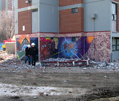IMG_3328r (SSTUDIO Samuel Bietenholz) Tags: world park toronto graffiti spring demolition to regent fa 2011
