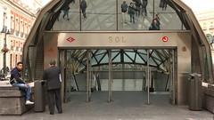 Estación de Sol - Madrid (lencss) Tags: madrid selfportrait spain metrosol
