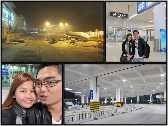 Arrive Hang Zhou Airport