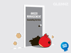 Anger Management T-shirt (Glennz Tees) Tags: art nerd fashion birds illustration design funny geek drawing humor cartoon tshirt anger gaming management angry illustrator draw popculture tee vector ai apparel adobeillustrator counselling glenz glennjones glenjones glennz gleenz glennnz