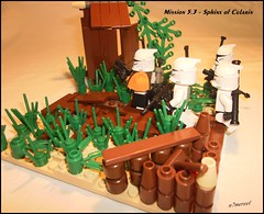 Mission 5.3 - Sphinx of Cularin (n7mereel) Tags: wood orange plants brown white house trooper black green fence starwars bush sand hands flickr crystals arms lego legs rifle tan rangefinder hut armor weapon swamp clones sniper pistol april bazooka cape squad friday clone bushes sludge muddy weapons kama groups blaster sergeant stood mereel 2011 pauldron 15411 racker siper lians serching syntetic boombs brickarms lacce xeta mission53 n7mereel 457thcorps sphinxofcularin ishkik ishkiks mission53sphinxofcularin synteticcrystals xetasquad
