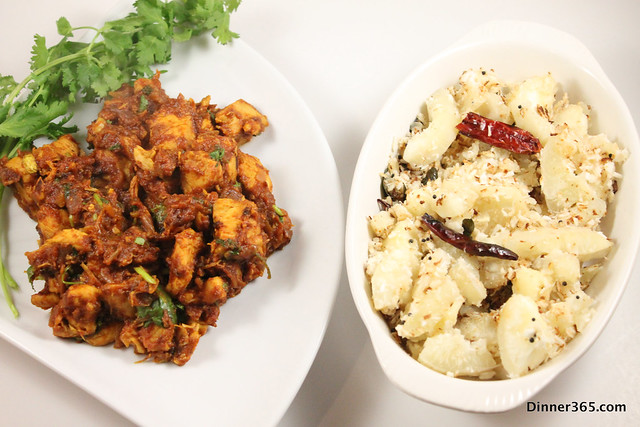 Day 105 - Vindaloo Chicken and Tapioca Stir fry