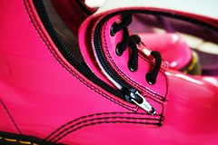 Stompin' boots (Hannah_Long !) Tags: pink hot shoes boots doctor doc stomping martens