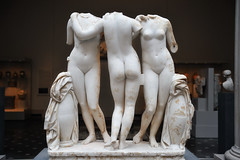 (jaroslavd) Tags: newyork detail statue nude greek roman threegraces marble metropolitanmuseum metropolitanmuseumofart