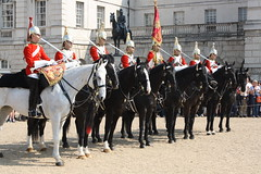 Changing Of The Guard (nickirp) Tags: horses horse london military guard parade queen stjamespark soldiers guards cavalry changingoftheguard horseguards solider horseguardparade thehouseholdcavalry