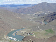 Roza diversion dam from Yakima Skyline trail.