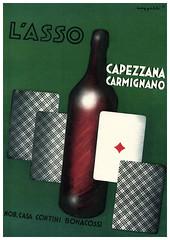 Capezzana Carmignano Retro Poster (mwimports) Tags: vintage ads advertising poster wine retro carmignano capezzana