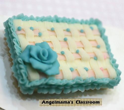 天使媽媽蛋糕皂教學 006