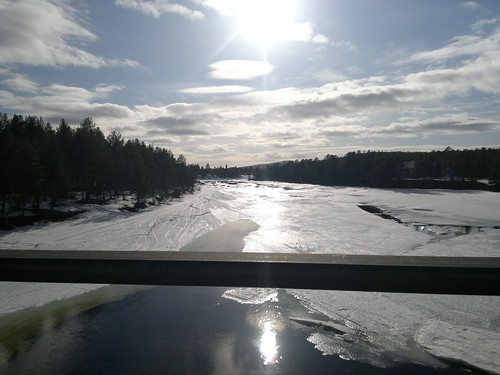 Driving to Saariselkä