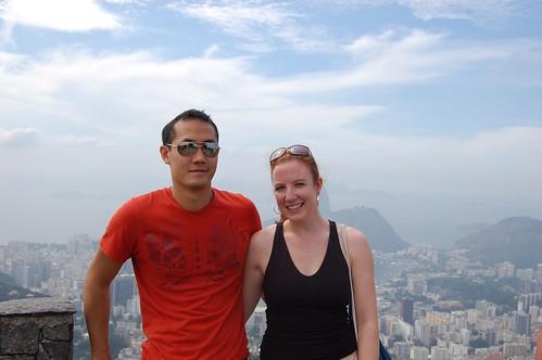 Us, above Rio