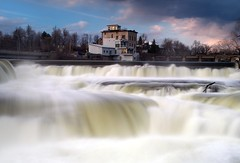 Almonte Falls (Perry McKenna) Tags: ontario canon power dam falls day113 almonte cleanpower ef1740mmf4l 11423 5dii day113365 3652011 365the2011edition