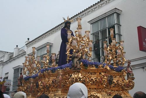 Nuestro Padre Jesús Cautivo. Procesión Magna del Santo Entierro. Sanlúcar de Barrameda, Sábado Santo 2011