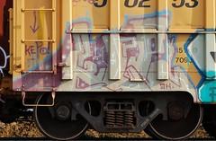 KEPO (Rob Swatski) Tags: street railroad streetart art car yellow train bench graffiti nikon paint grafitti pennsylvania tag graf rail railway trains pa railcar spraypaint boxcar graff railways railfan freight freighttrain freights rollingstock fr8 kepo benching nikond40 freighttraingraffiti swatski