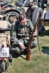 Oechov 1945 (The Adventurous Eye) Tags: world red two germany army war wwii ss ww2 czechrepublic 1945 reenactment reenactors wehrmacht 2011 rud armda oechov oechov1945