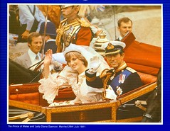 The Wedding of Lady Diana Spencer and Charles, Prince of Wales,1981 (reinap) Tags: princecharles royalwedding ladydianaspencer weddingofdianaandprincecharles