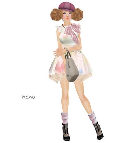 .::Y&R::. Watercolor blot dress