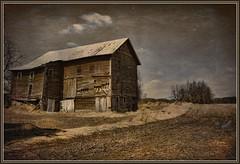 fading away... (laura's POV) Tags: old history field barn rural vintage corn midwest michigan farm country mygearandme mygearandmepremium mygearandmebronze lauraspointofview lauraspov