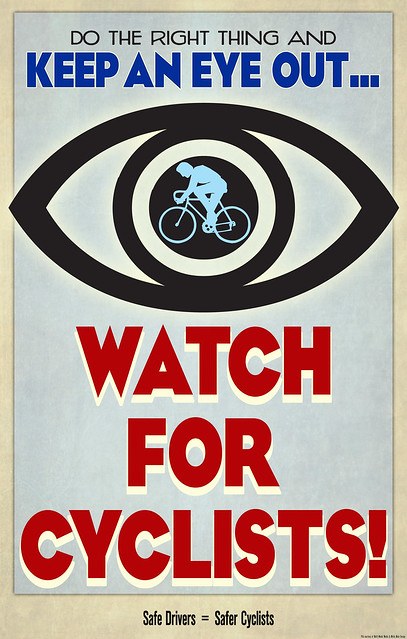 Safe Drivers = Safer Cyclists