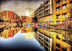 Camden Town Canal HDR