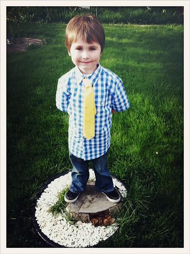 Mason on Easter