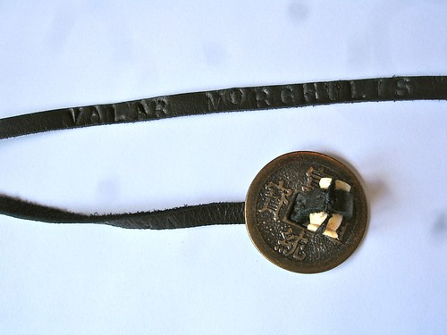 Valar Morghulis Bracelet 1: Words & Coin Closure