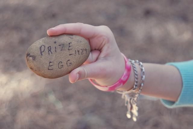 vintage prize egg