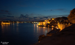 Valletta waterfront (Amir Kamran) Tags: gardens night landscape nikon scenery waterfront view malta amir kamran valletta baraka cy2 challengeyouwinner d5000 amirkamran