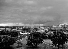 Tuscaloosa Tornado as seen from UAB campus