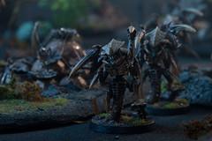 Rich Jones' Tyranids and Infested Jungle terrain (jontlaw) Tags: jones rich games 40k jungle workshop warhammer atmospheric 40000 tyranid wargaming