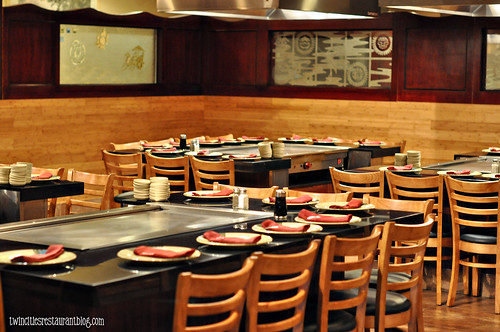 HIbachi Tables at Osaka Sushi & Hibachi ~ Maplewood, MN