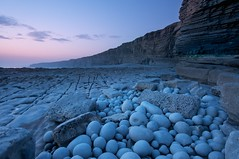 Smooth (Duncan George) Tags: ocean uk longexposure sea seascape wales coast sand nikon pebbles cliffs coastline geology valeofglamorgan bristolchannel nashpoint celticsea glamorganheritagecoast d700 carboniferoussandstone