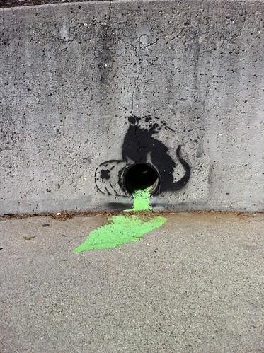Cal Poly - Banksy-esque?
