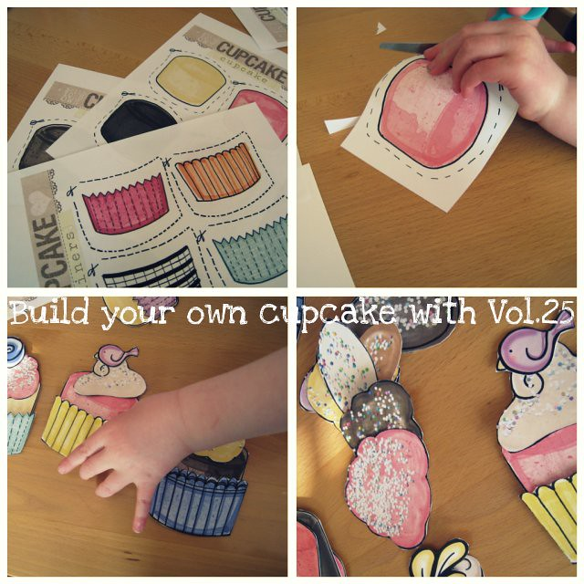 """Build your own cupcake"" with Vol.25..."