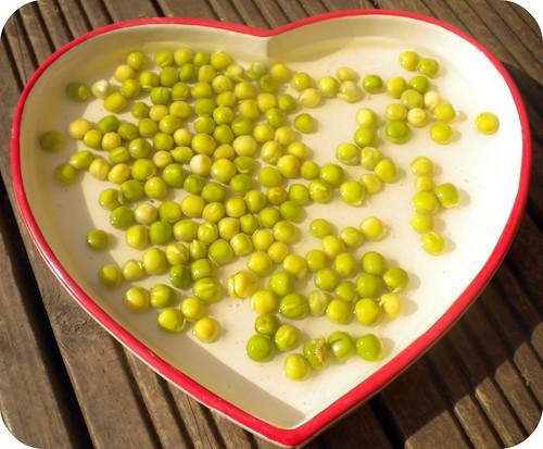 pea heart