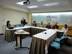 民間自力研究的東台灣海峽白海豚科學技術顧問團,28日發表白海豚保育的最新結論。(攝影:簡毓群)